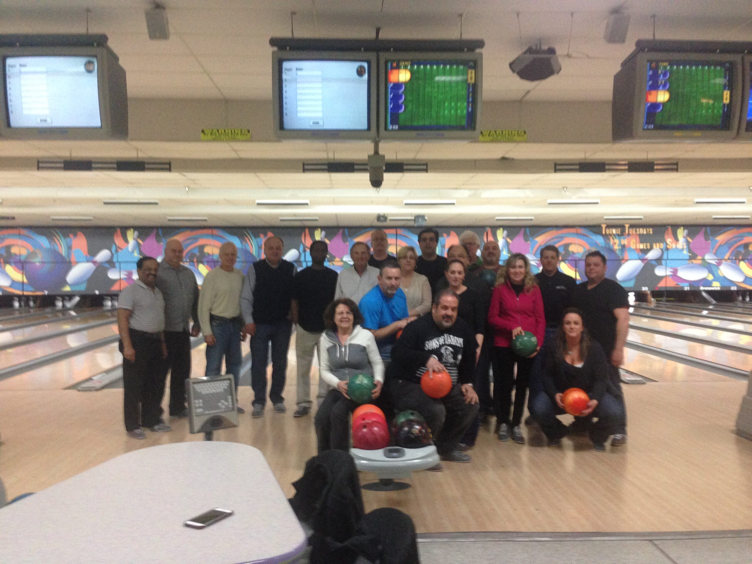Bristol Bowling Night 2015