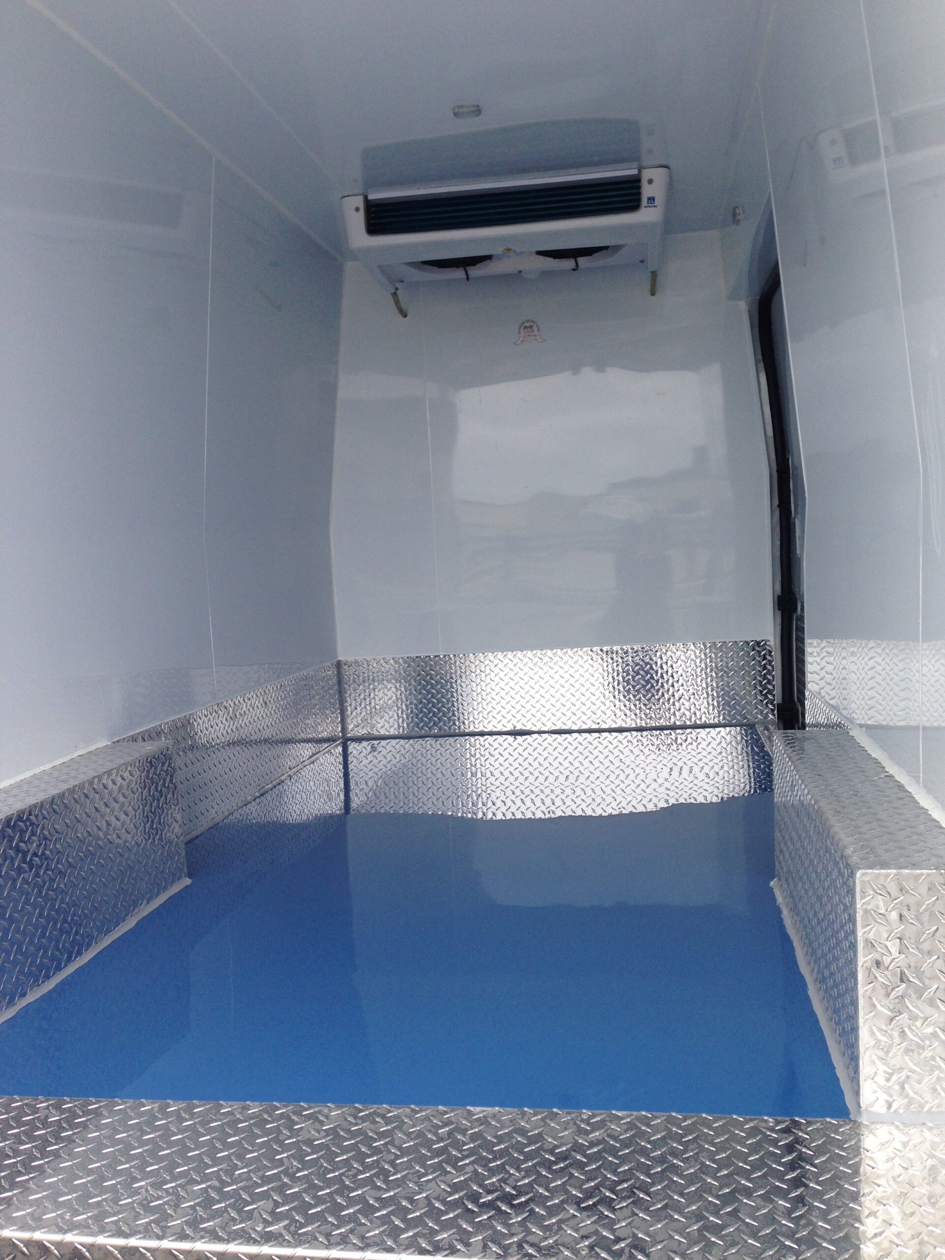 Inside of Refrigerated Transit