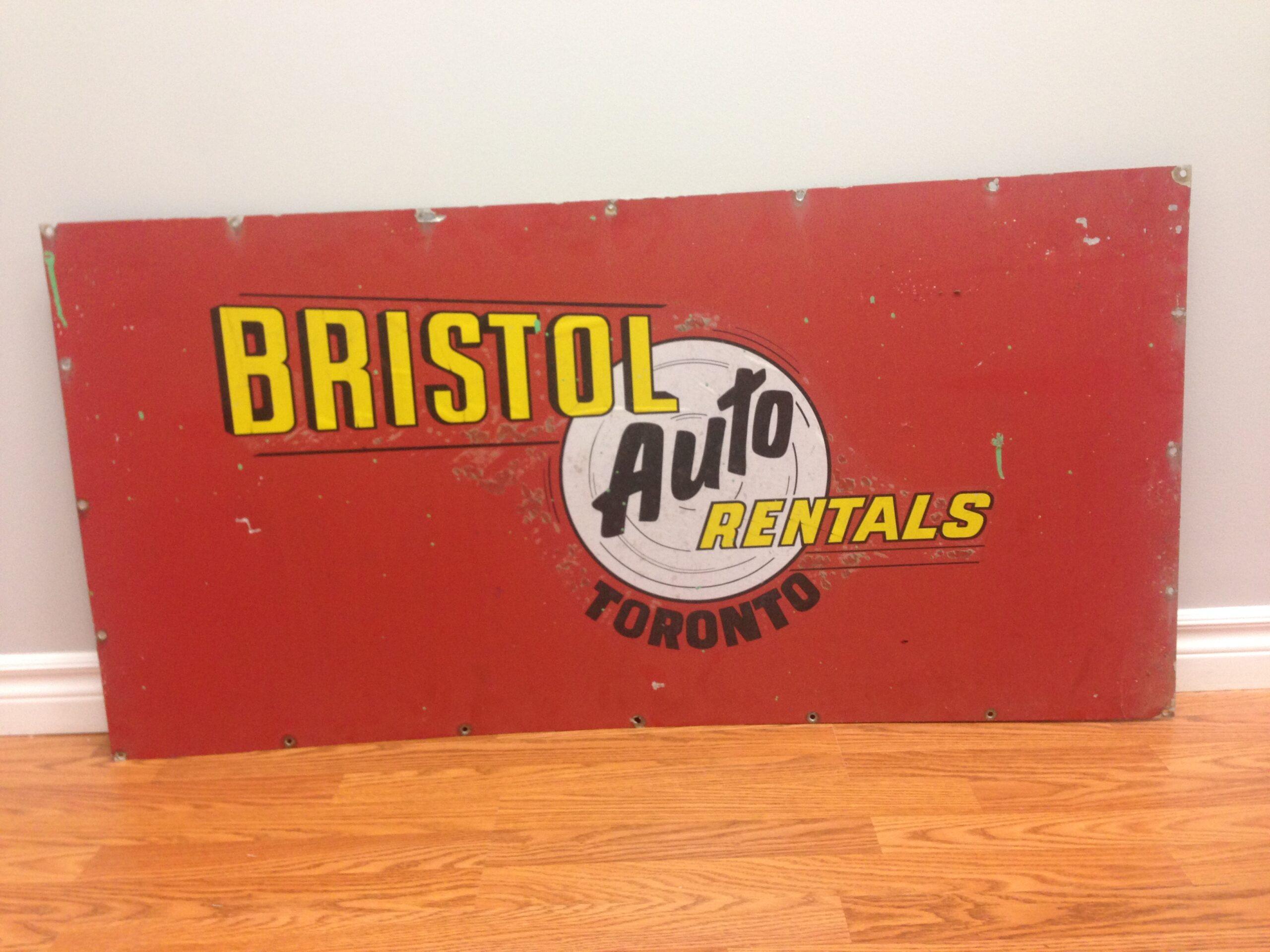 Bristol Sign 1960s